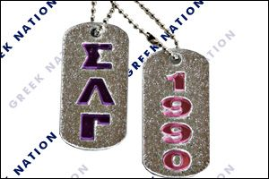 "£›"" BLING DOG TAGS"