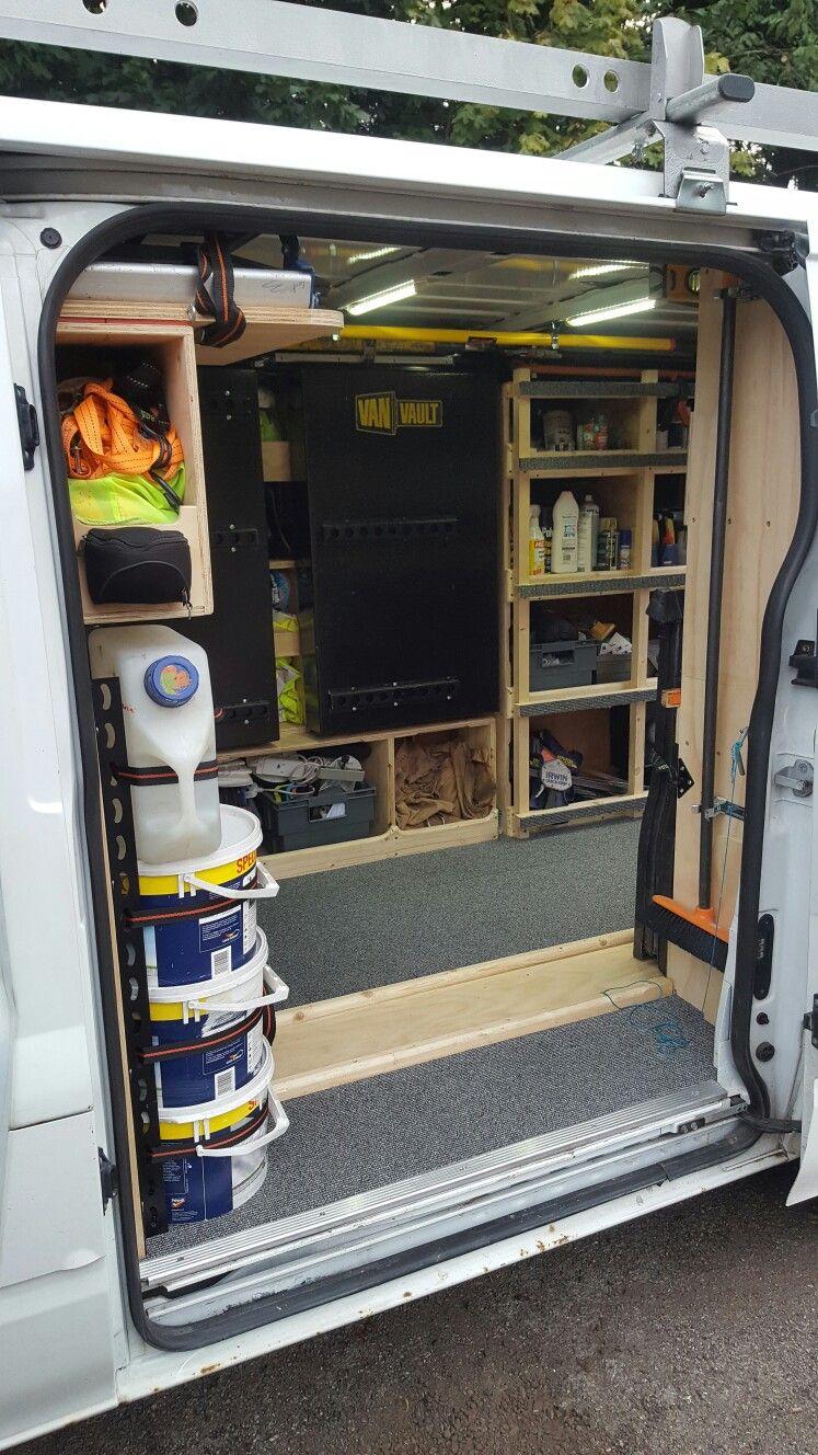 pin by keith belanger on van in 2018 | van racking, vans, van shelving