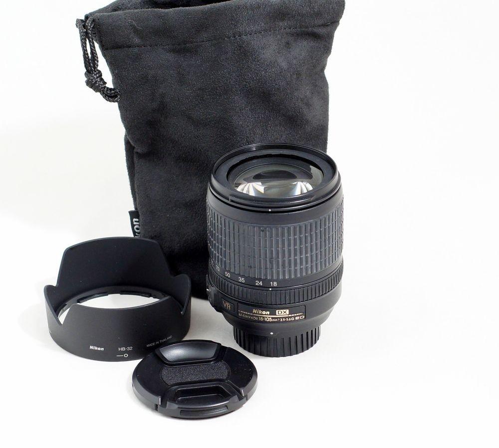 Nikon D7100 Nikon D7100 Accessories Nikond7100 Nikon Nikon Nikkor 18 105mm Vr Lens Af S D80 D90 D3100 D3200 D33 Nikon D7200 Nikon D3100 Accessories Vr Lens