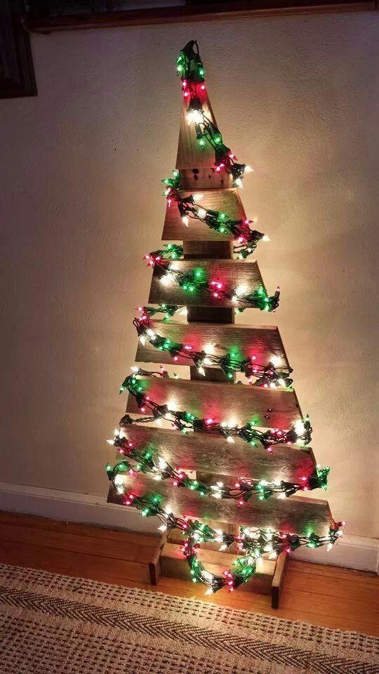 Wooden christmas tree Xmas crafts Pinterest Wooden christmas - wood christmas decorations