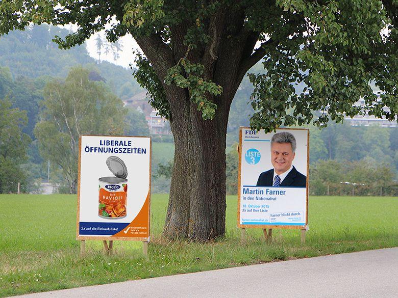 STREUPLAN | Agentur für integrierte Below the Line-Kommunikation: Mit Hero Eier Ravioli in den Wahlkampf gezogen