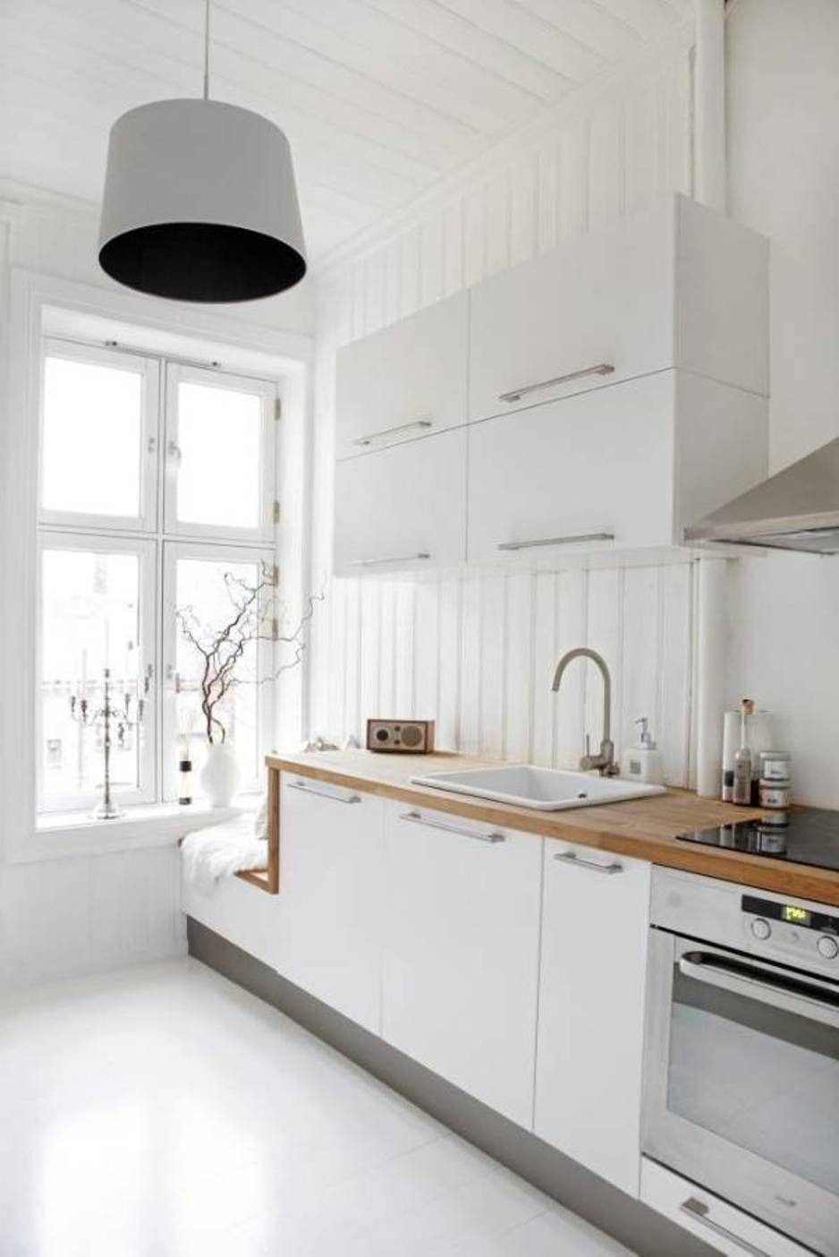 23 Beautiful White Scandinavian Kitchen Designs Scandinavian