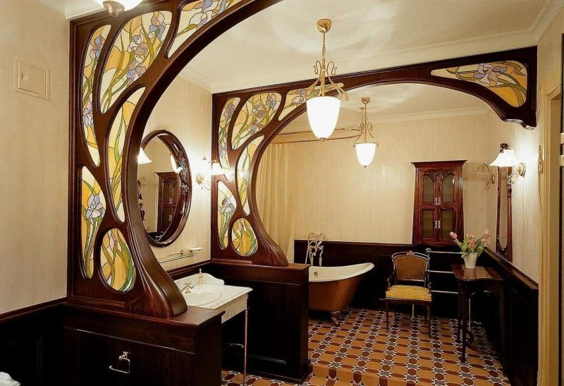 Art Nouveau Interior Design Features
