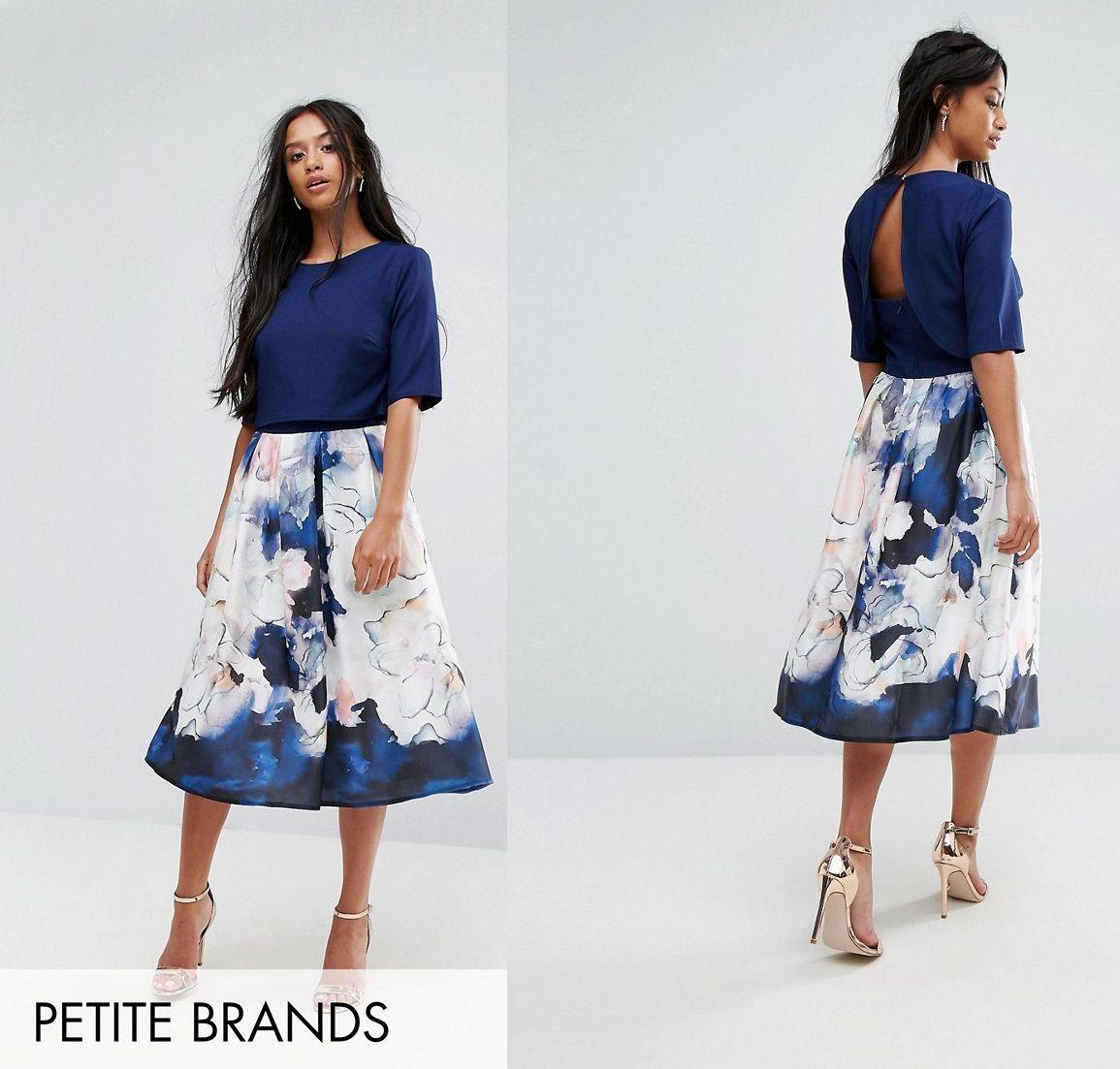 Sukienka Midi Rozkloszowana Kwiaty Wesele Plisy 36 7415471743 Oficjalne Archiwum Allegro Floral Skirt Midi Skirt Fashion