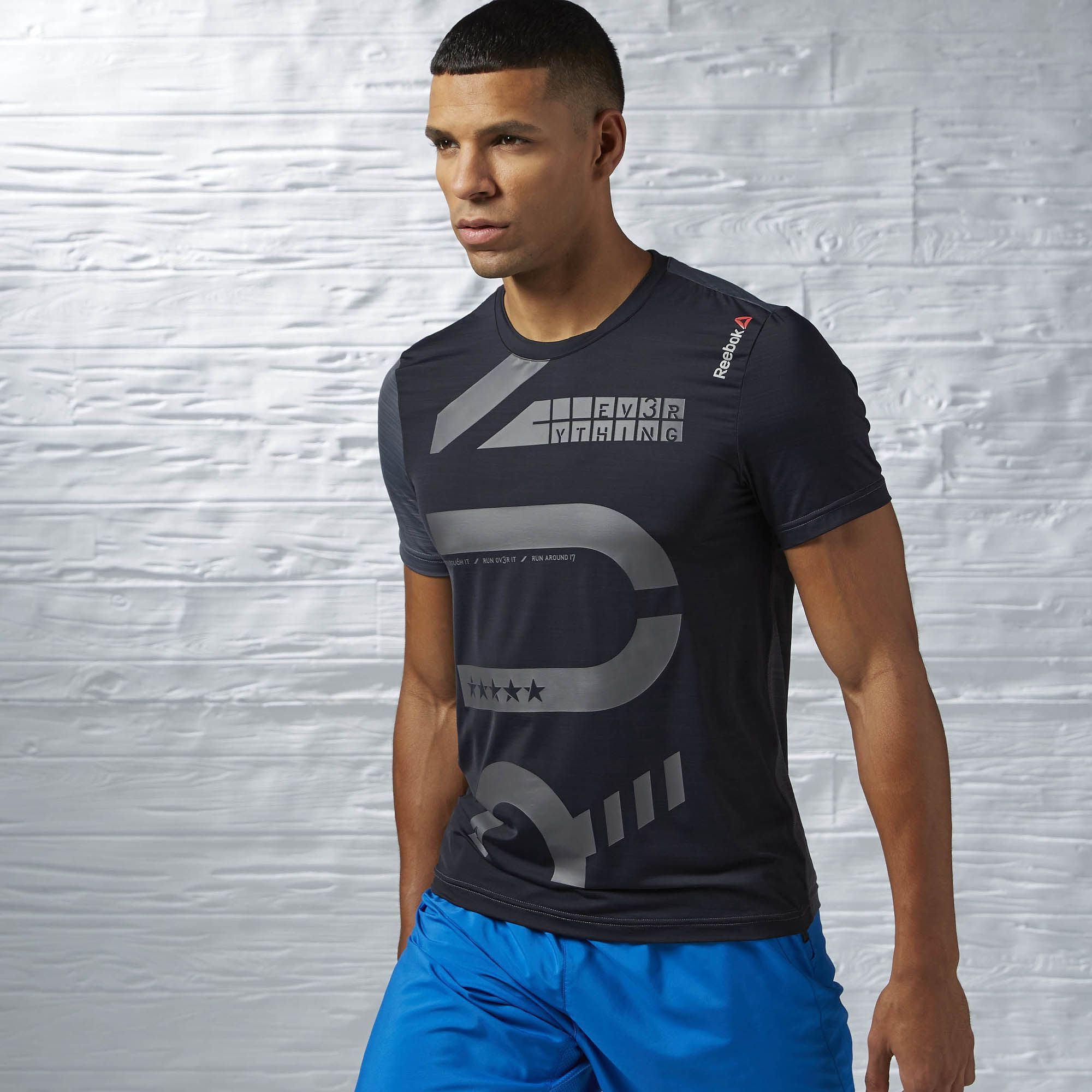 Reebok - One Series Running Short Sleeve ACTIVChill T-Shirt