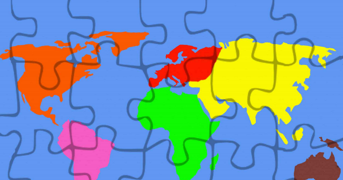 Printable 7 Continent Puzzle Map Large.pdf