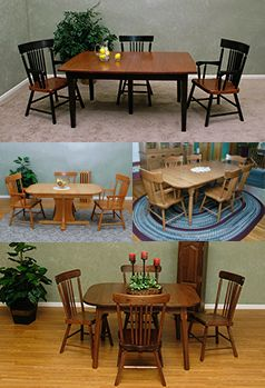 Dining Room Furniture Crafted By Georges In Lancaster PA Handcrafting Tomorrows Antiques Today