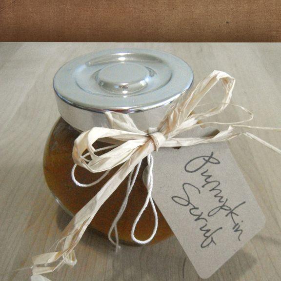 Paula Parrish: DIY Pumpkin Sugar Scrub