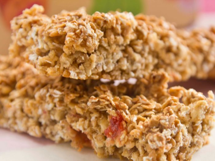 Barritas De Cereal Caseras Barra De Cereal Casera Cereal Casero Barra De Cereal