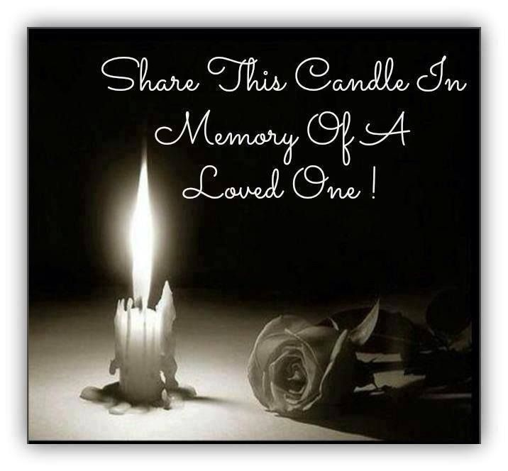 Share this candle in memory of a loved one.... Grief