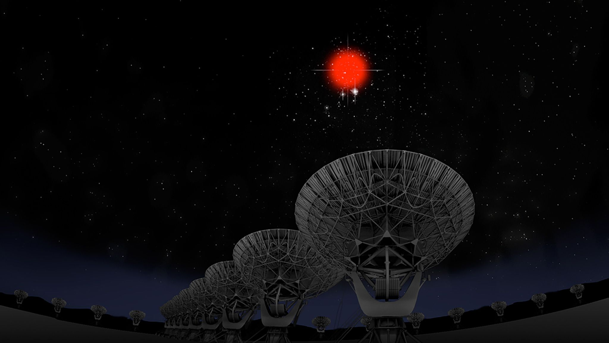 Strange Radio Bursts Seen ing From a Galaxy Far Far Away