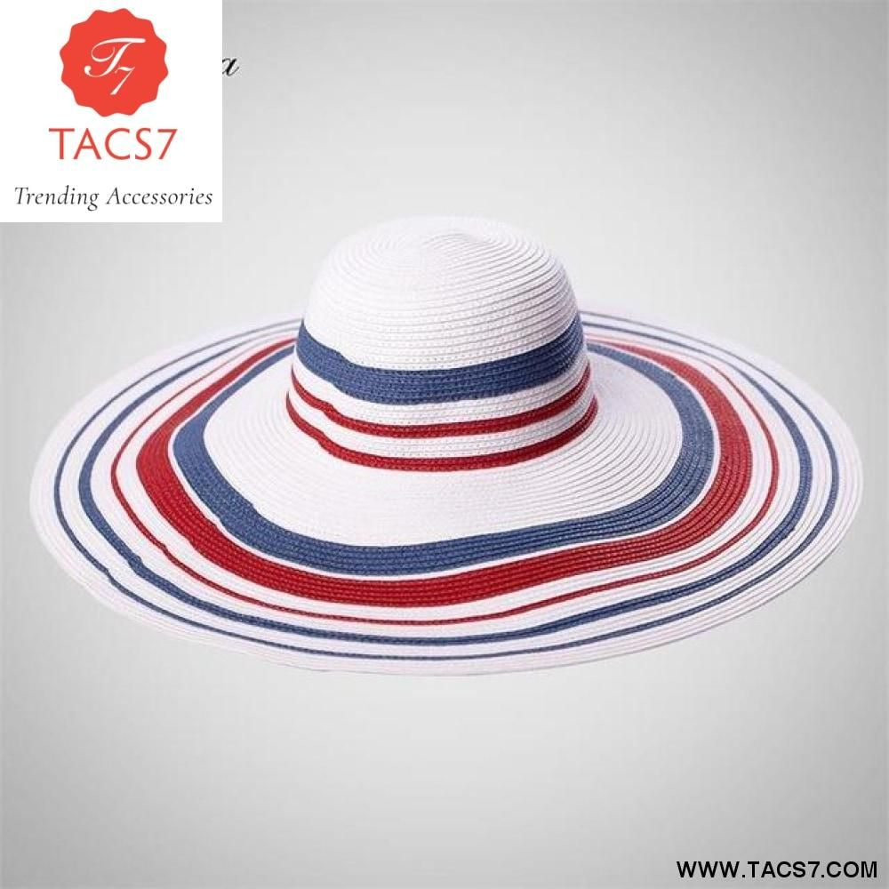 Hot Style Summer Large Brim Straw Hat for Women Girls Adult Fashion Sun Hat  UV Protect fa6d3eb50d7c