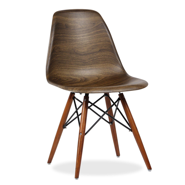 Inspiriert vom Stuhl DSW von Charles & Ray Eames. Beine