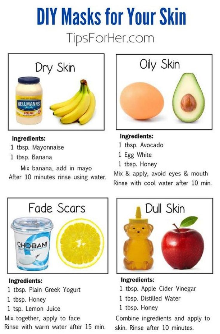 8 DIY Masks for Radiant and Beautiful Skin - 8 Effective Dry Skin