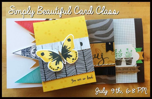 Stamp' Up! ... hand crafted card  Pink  Designs: Watercolor Wings ... yellow with black and white ... luv the patterned papers ...