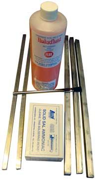 This Is What You Need To Get Started 4 Pounds Of 50 Lead Tin Bar Solder 3 One Pound Bars And Two 1 2 A Lb Sal Ammoniac For