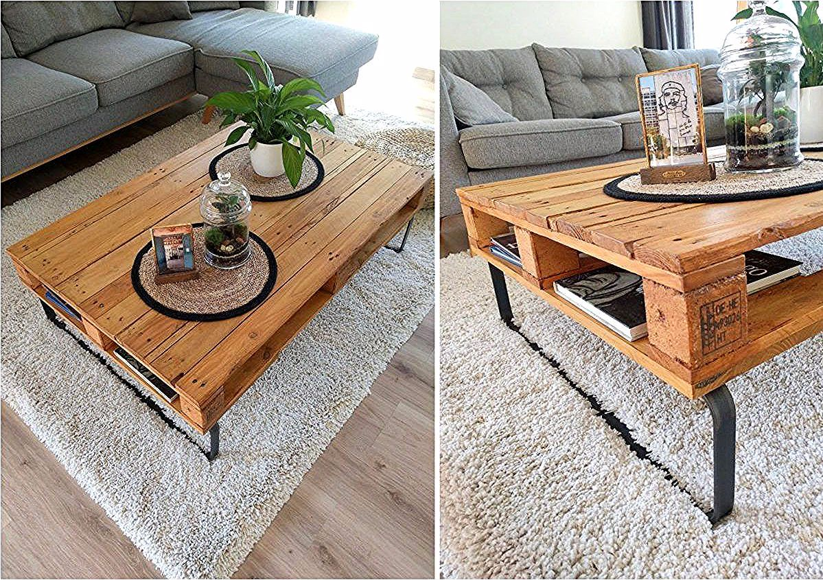 Table Basse Palette Diy Facile A Faire Soi Meme Clem Around The Corner In 2020 With Images Pallet Coffee Table Diy Coffee Table Inexpensive Coffee Table