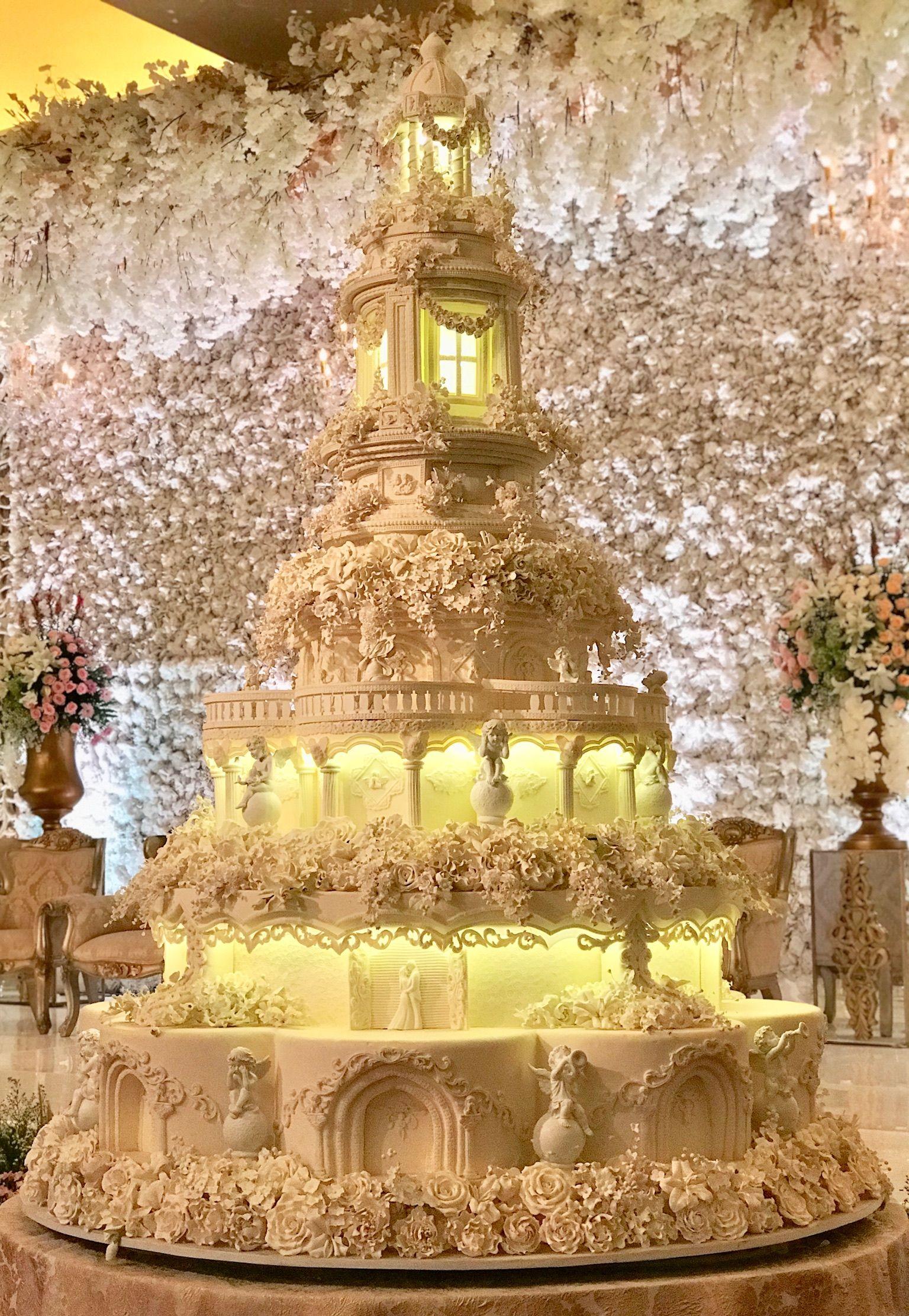 8 Tiers - Le Novelle Cake | Jakarta & Bali Wedding Cake | Cakes ...