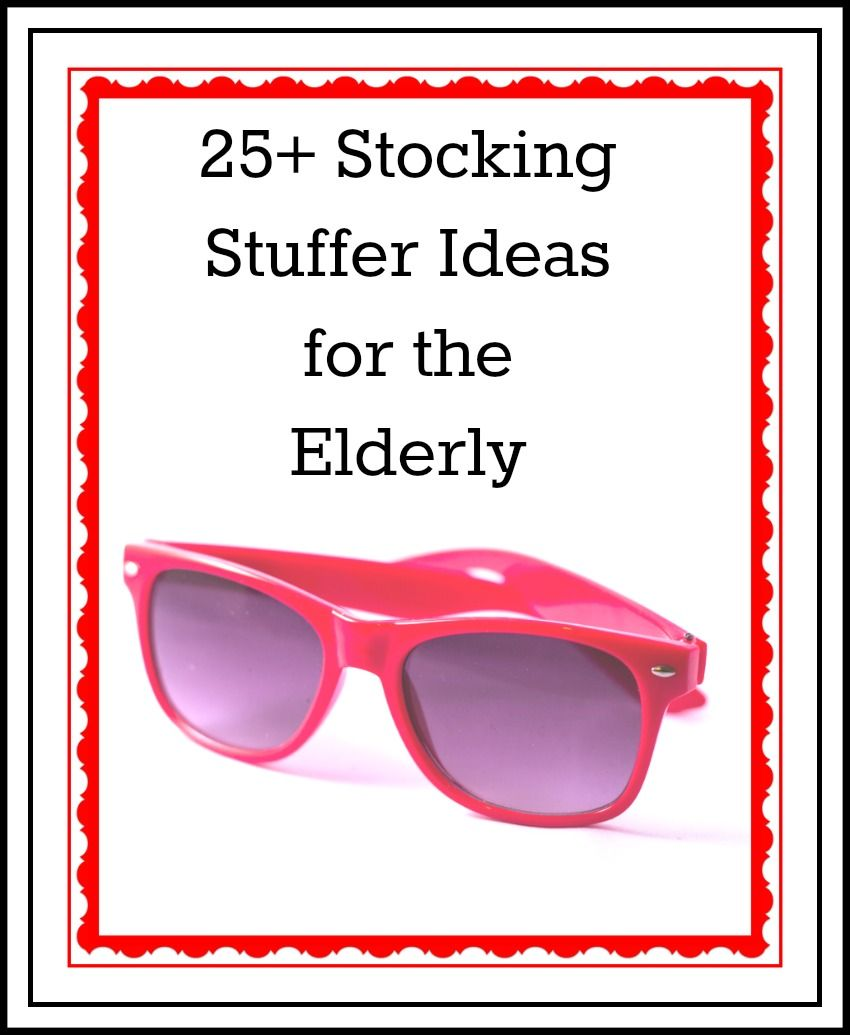 Ultimate List of Stocking Stuffers for the Elderly ...