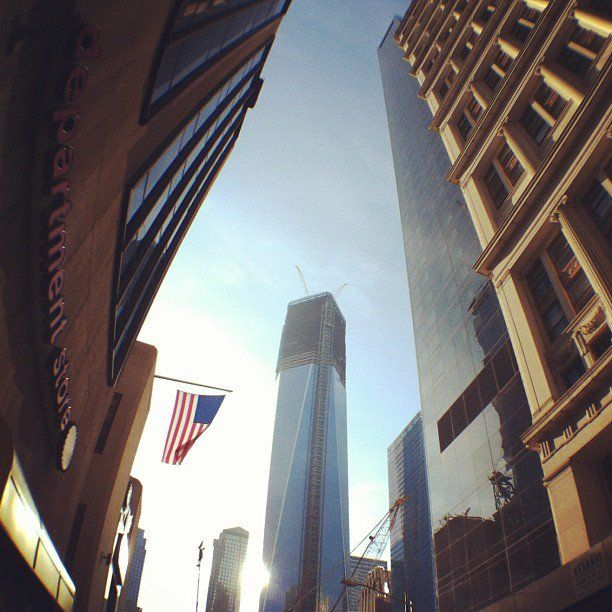 This is the new World Trade Center Tower !