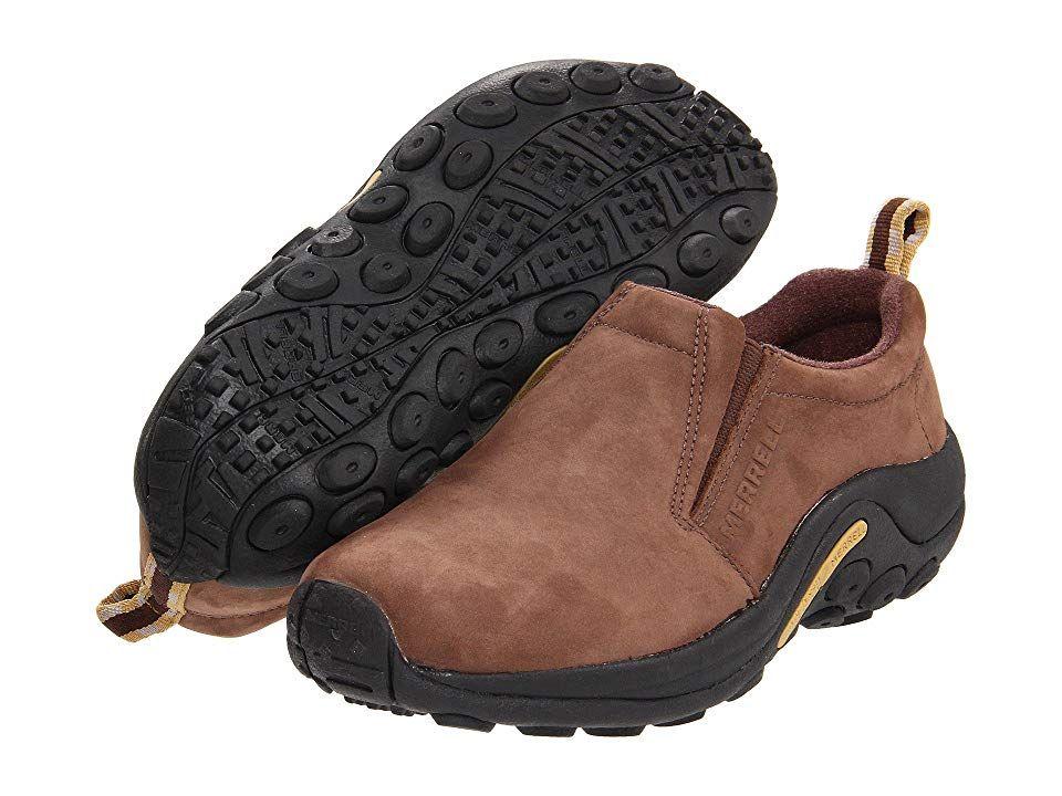 merrell mens jungle moc casual shoes - brown future