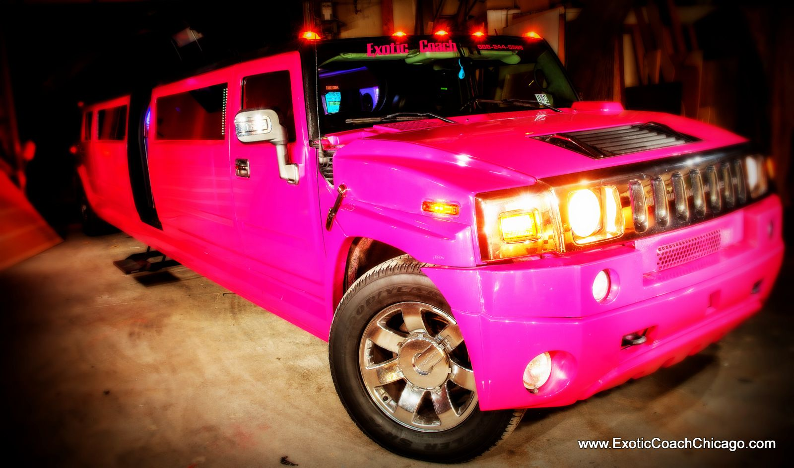 Chicagos only pink hummer and i have it www