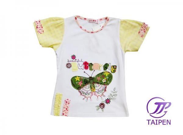 Custom 6 - 16 Year Kids Girl Round Neck Short Sleeve Summer Toddler Graphic Tee Shirt