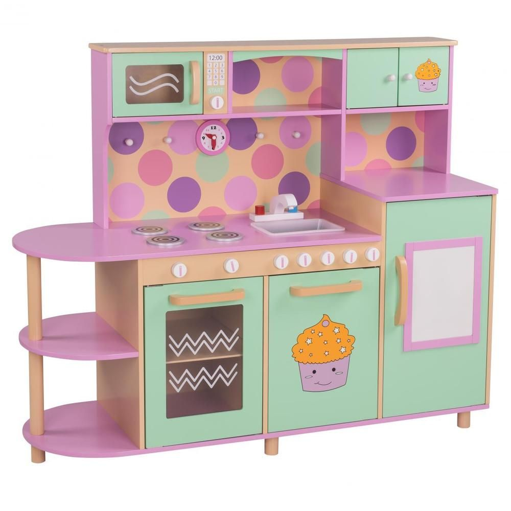 Details zu Kinderküche Holz Spielküche Kinderspielküche Küche ...