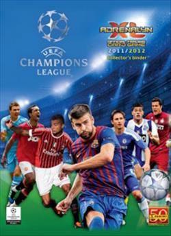 2011 2012 Uefa Champions League Adrenalyn Xl Cards Calciatori Album
