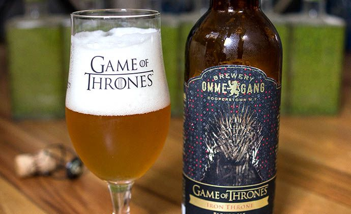 Beer Review: Ommegang Iron Throne Blonde Ale, the Game of Thrones Beer - Drink Baltimore - The Best Happy Hours, Drinks & Bars in Baltimore