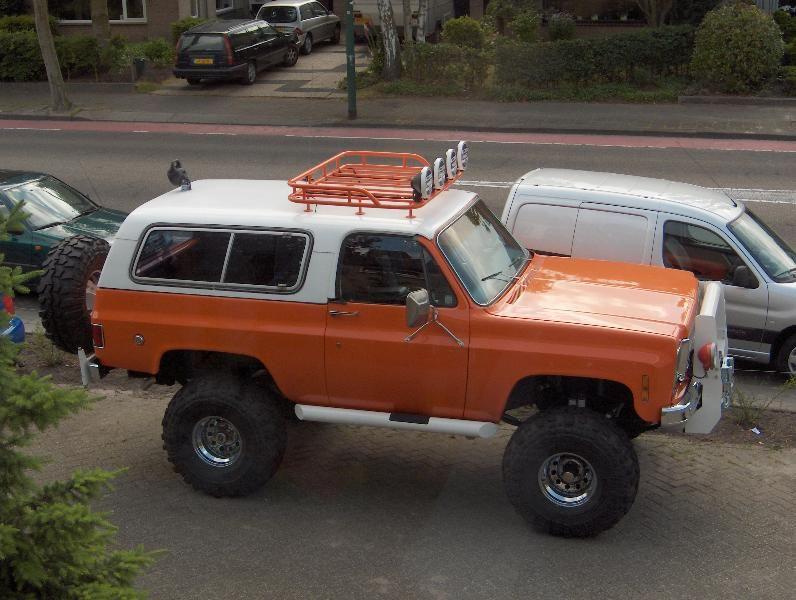 Chevy Blazer Cheyenne Holley Truck Show 1975 Chevrolet Blazer K5
