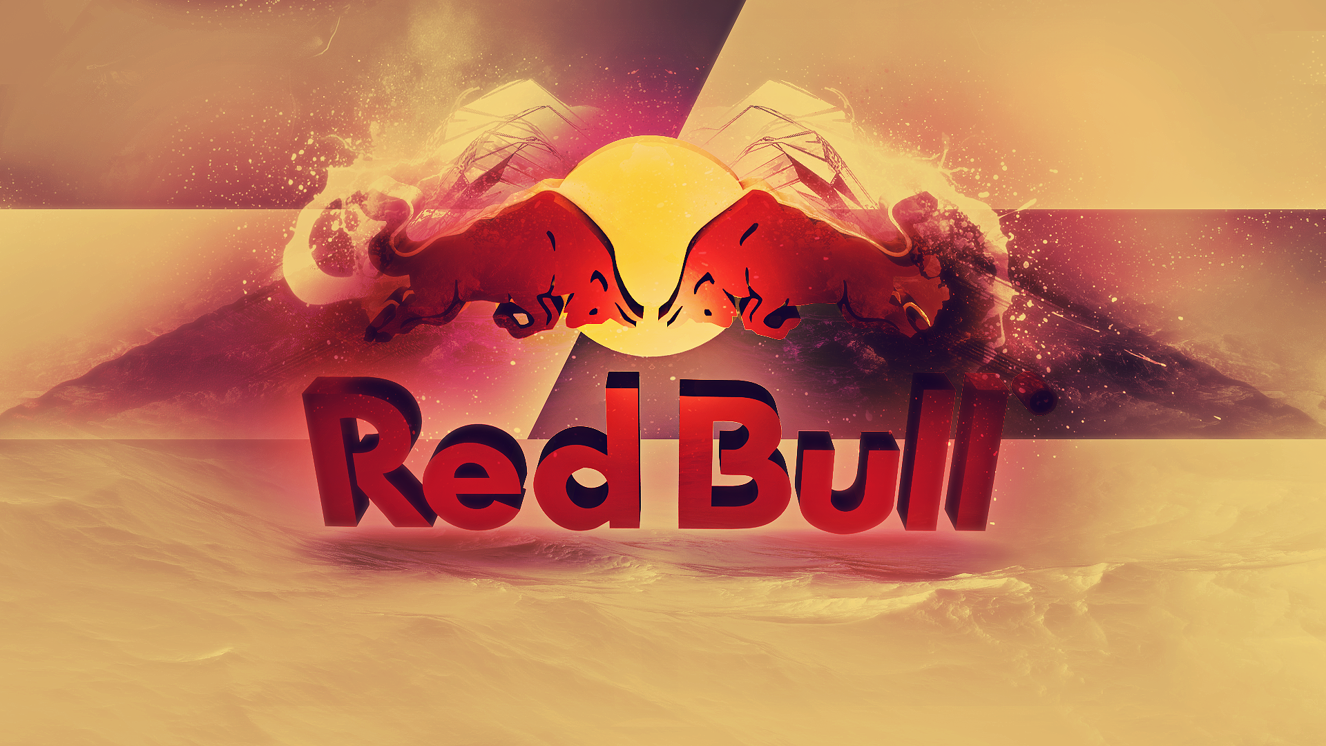 Pin By Alec Mannigel On Red I M Seeing It Bulls Wallpaper Red Bull Red Bull Design