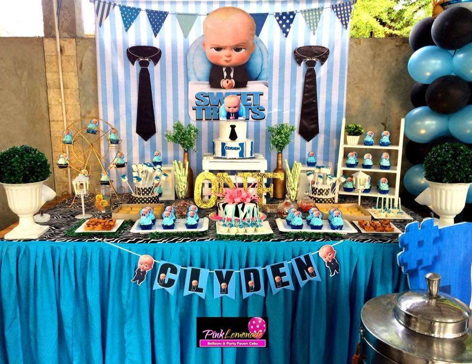 Kartinki Po Zaprosu Boss Baby Party Baby Birthday Party Boy Baby Birthday Party Baby Boy 1st Birthday