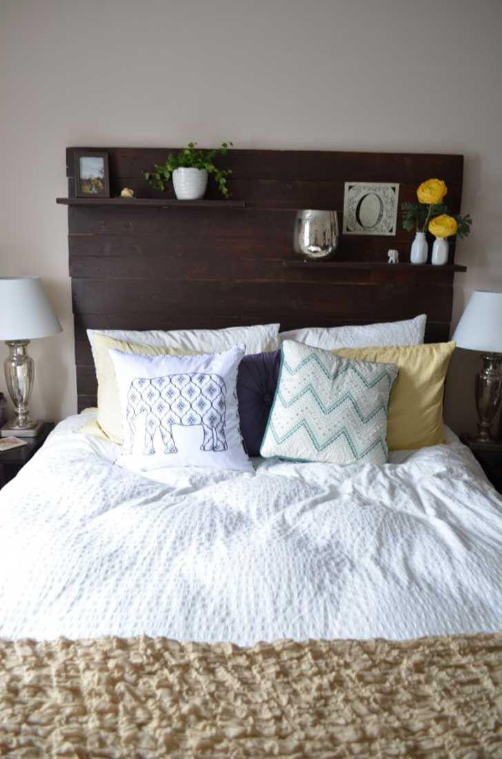 18 entretenidos respaldos para convertir tu cama en una obra de arte ...