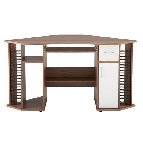 Mercury Row Maxam Corner Computer Desk Corner Desk Home Office Furniture Desk Desks For Small Spaces