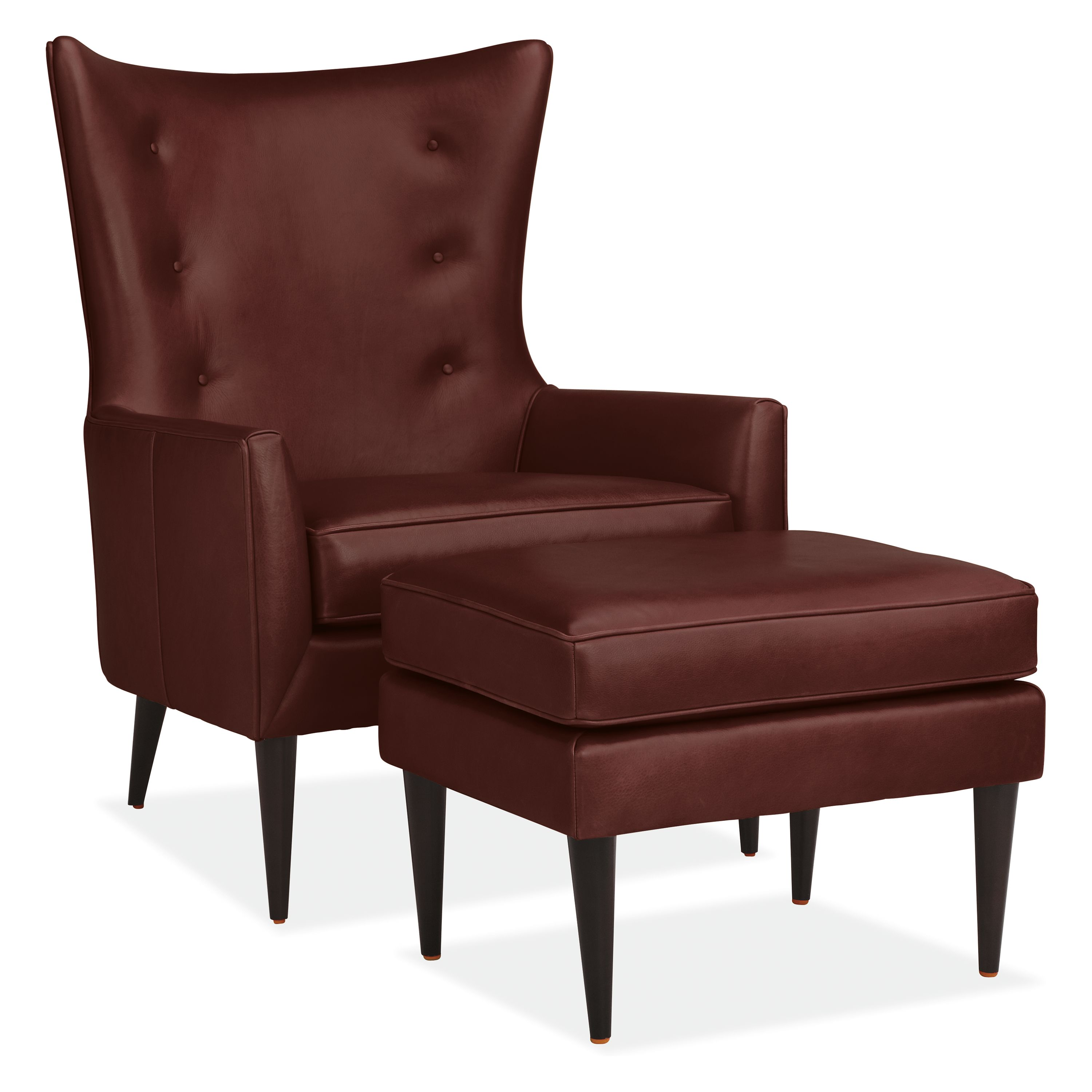 Wondrous Room Board Louis Leather Chair Ottoman Products Short Links Chair Design For Home Short Linksinfo
