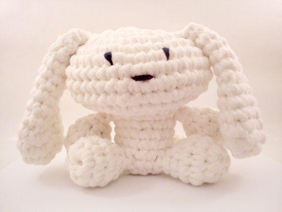 DIY énorme t-shirt BUNEE fil - bunny Crochet PATTERN - au Crochet motif - Amigurumi pattern - jouet en peluche modèle - modèle de jouet - bl...