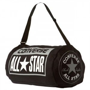 8631c11c4e922 CONVERSE All Star Legacy Duffel Bag - Black   White   Grey