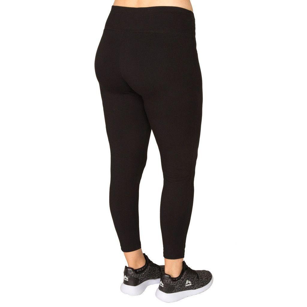 Plus Cotton Spandex Women's Workout Legging