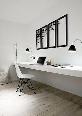 Picture 10 of 10 #office #decor #design #interior #model #better #decoration #lighting #workingplace #minimalisthome