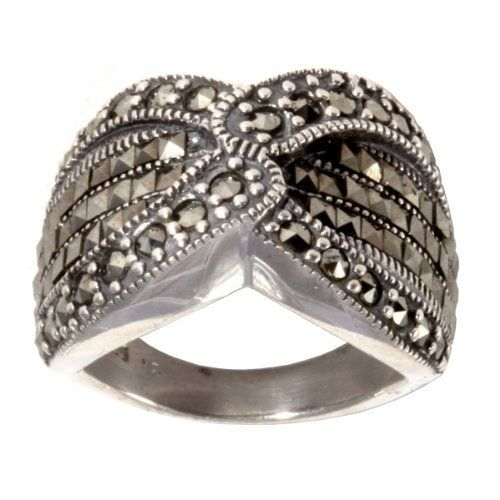 Sterling Silver Marcasite Cris-Cross Ring Amazon Curated Collection, http://www.amazon.com/dp/B008CY30JE/ref=cm_sw_r_pi_dp_Q7mprb1JWKZKV