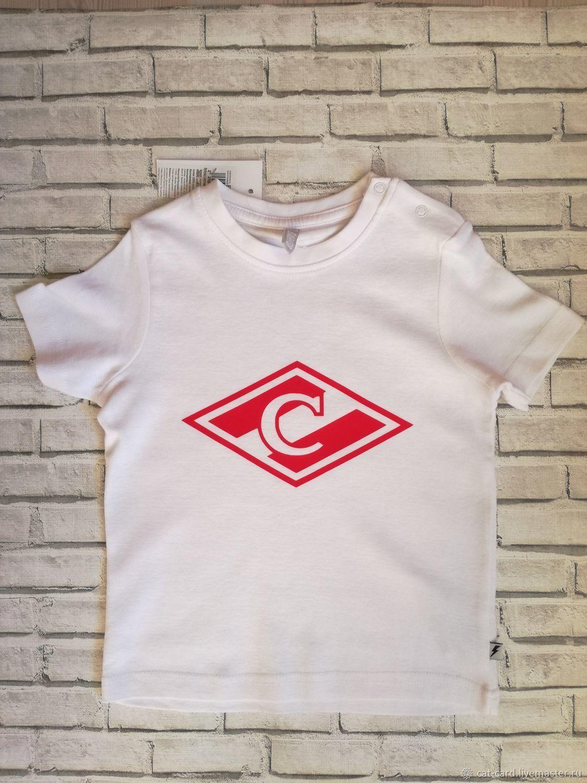 dc8cbce68a68c Детская футболка с эмблемой, фамилией, номером Подарок сыну фанату – купить  в интернет-