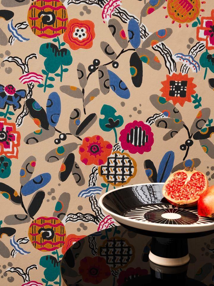 Coleccion fox trot de pierre frey encuentralo en nuestra tienda marsala decoracion s l plaza - Papel pintado zaragoza ...