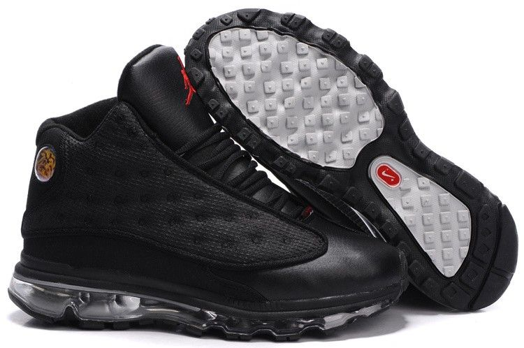 sports shoes 43f41 87371 Mens Air Jordan Thirteen Air Max Fusion Shoes Red White Black