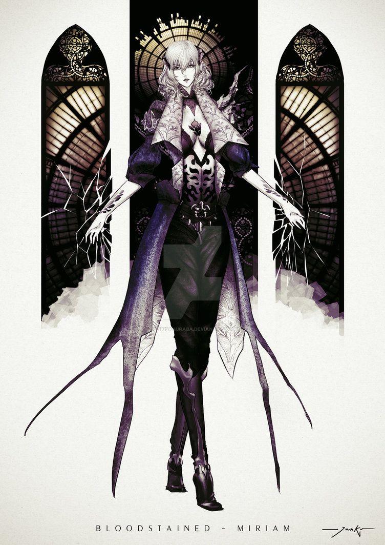 Bloodstained Miriam By Junkisakuraba On Deviantart Art