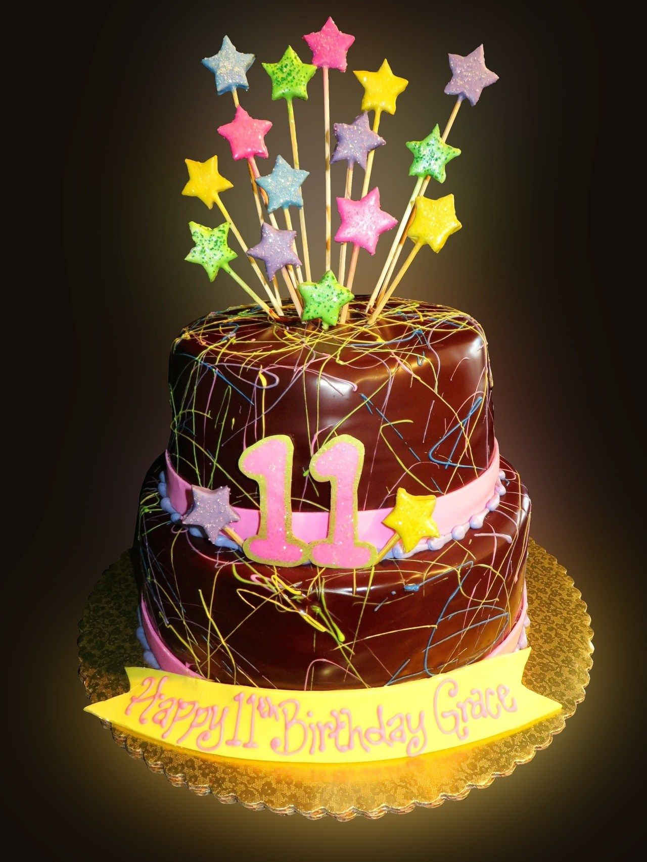 Cool 25 Marvelous Picture Of Birthday Cake For 11 Years Old Girl With Funny Birthday Cards Online Elaedamsfinfo
