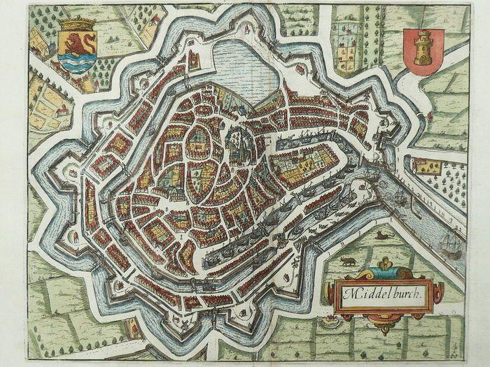 Middelburg; Lodovico Guicciardini Middelburch 1612