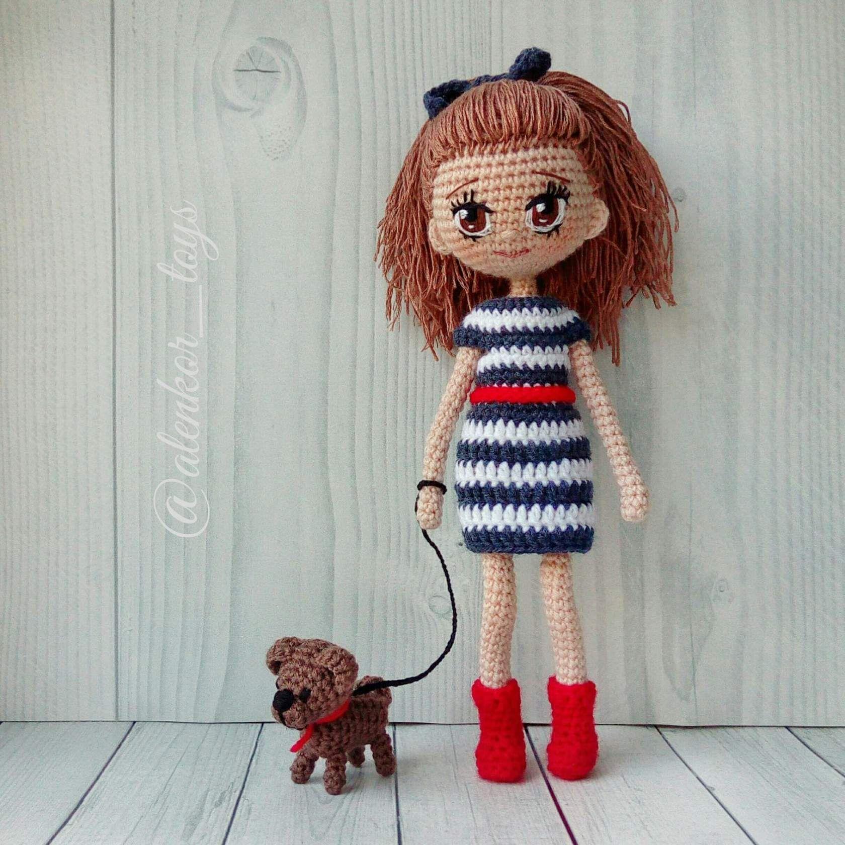 Одноклассники | Вязание игрушки | Pinterest | Muñecas, Ganchillo y ...