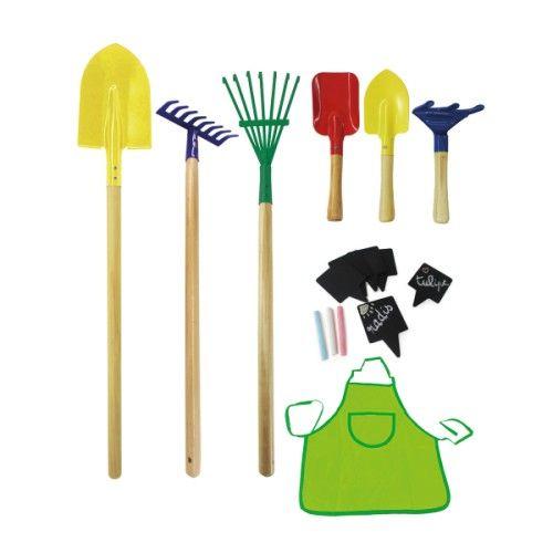 Grand set d\'outils de jardinage Jardimini Oxybul | Let\'s play ...
