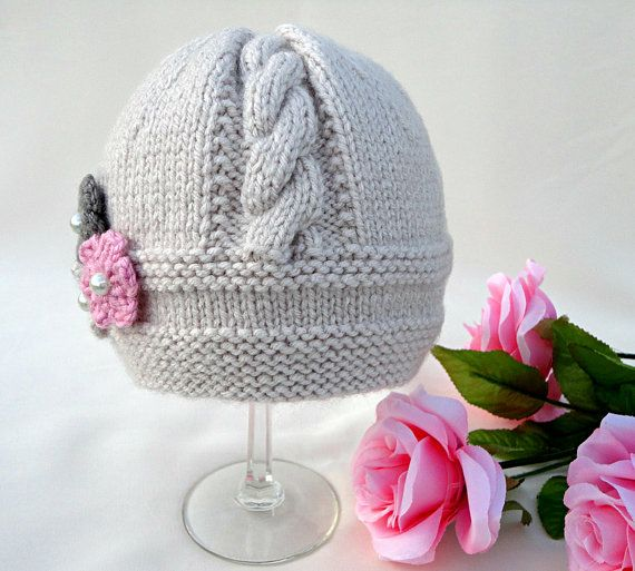 Bebé sombrero P A T T E R N tejer sombrero bebé por Solnishko43 ...